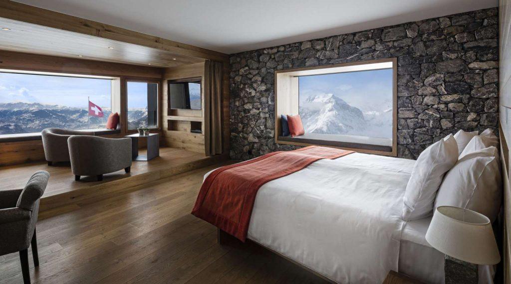 Chetzeron canton of valais switzerland hotelier academy for Hotel design valais