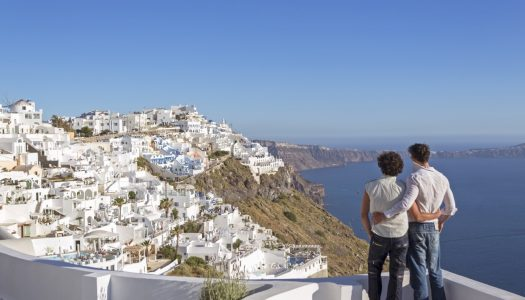 Greece is promoted as the top gay destination for holidays in September