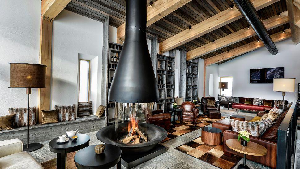 hotel fireplaces | chedi andermatt | hotelier academy