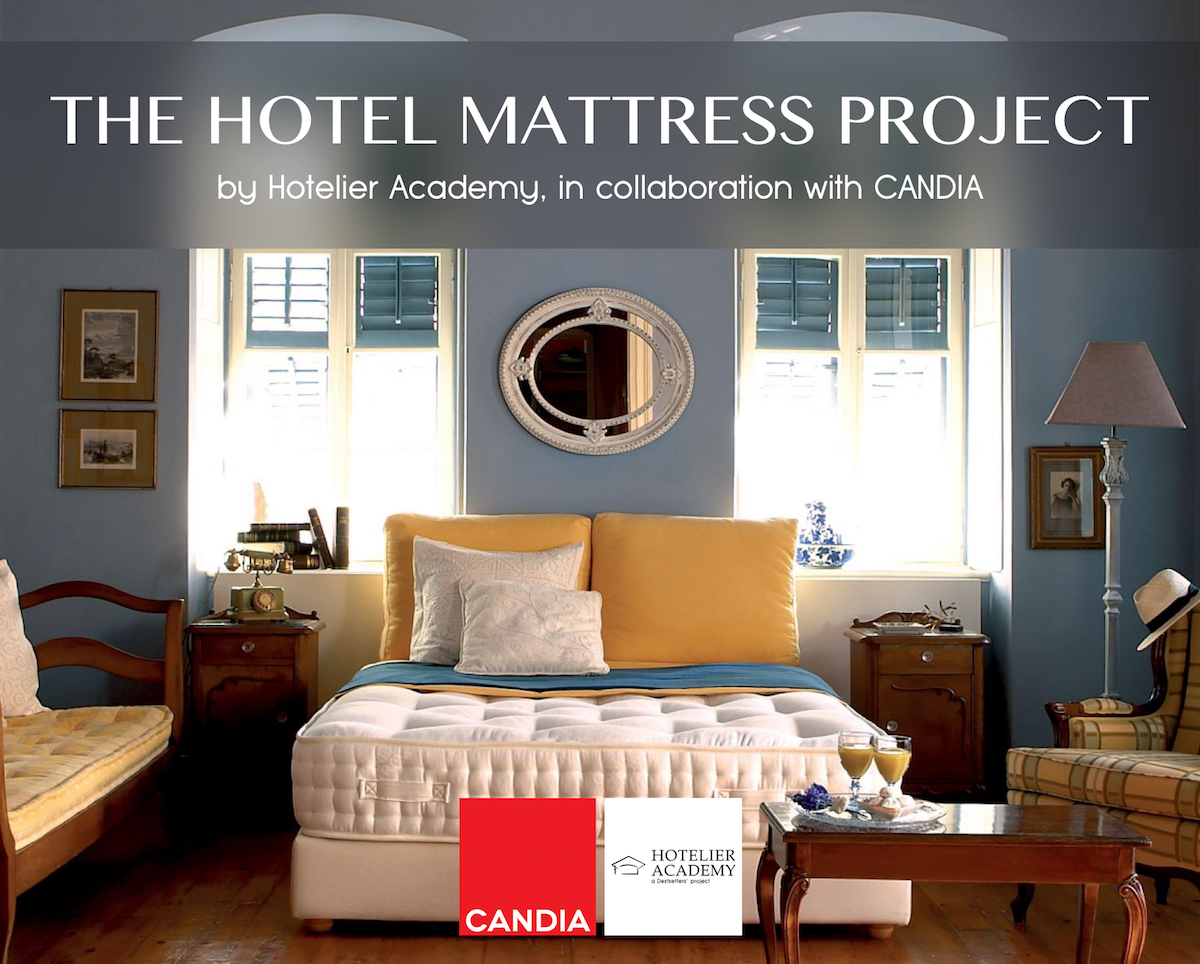 "The ""Hotel Mattress Project"" brings the sleeping experience to the hotelier market's centre of attention! – Hotelier Academy"