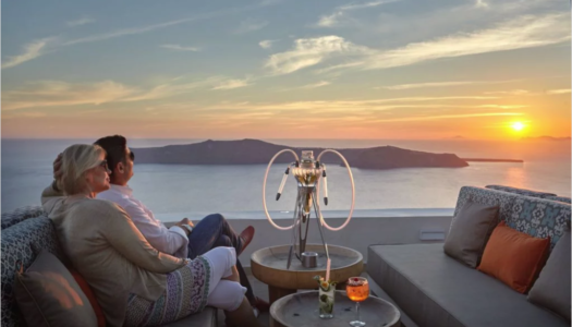 A Hotelier in Santorini presents his property's mix & match oriental experience