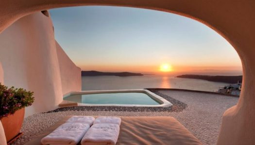 "A ""natural"" hotel in Santorini, becomes an excellent example of how the local experience & absolute luxury can be combined"