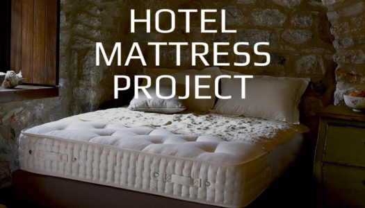 """The Hotel Mattress Project"" by CANDIA is here to educate the hospitality industry"
