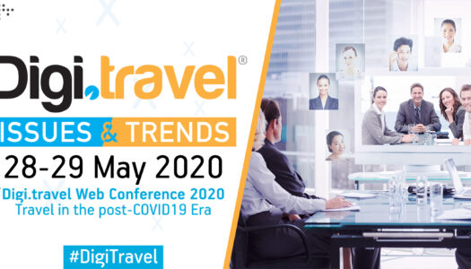 """Digi.travel Conference"" returns covering ""Travel in the post-COVID19 Era""."