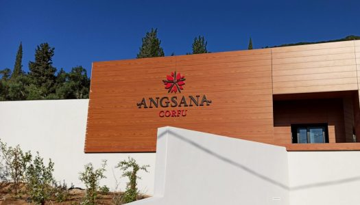 Angsana Corfu Resort: How the hotel's architecture & concept affected its signage specification